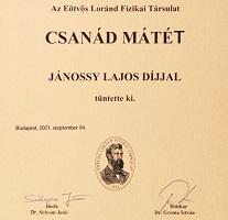Jánossy Lajos-díj
